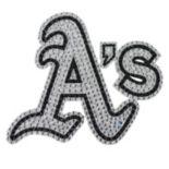 Oakland Athletics Bling Emblem