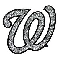Washington Nationals Bling Emblem