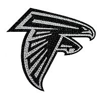 Atlanta Falcons Bling Emblem