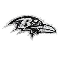 Baltimore Ravens Bling Emblem