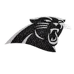 Carolina Panthers Bling Emblem