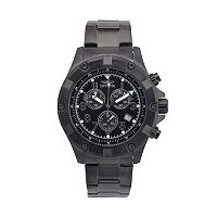 Invicta Men's Specialty Black Ion-Plated Stainless Steel Chronograph Watch