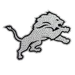 Detroit Lions Bling Emblem