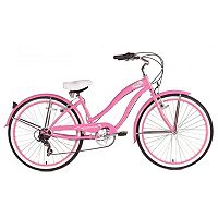 Micargi Rover 26-in. 7-Speed Beach Cruiser Bike - Women