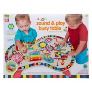 ALEX Jr. Sound and Play Busy Table Activity Center