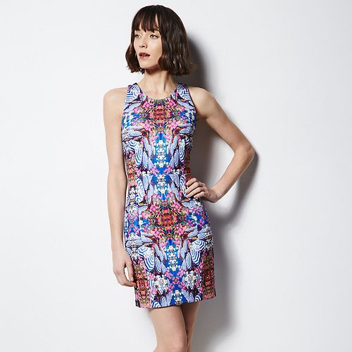 MILLY for DesigNation Sheath Scuba Dress - Women's