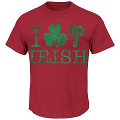 Men's Majestic Philadelphia Phillies Celtic Signs Tee