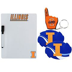 Illinois Fighting Illini 4-Piece Lifestyle Package
