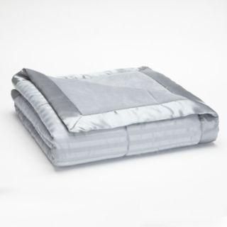 Striped 250-Thread Count Down-Alternative Blanket