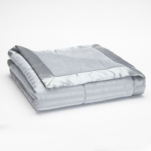 Striped 250-Thread Count Down-Alternative Blanket