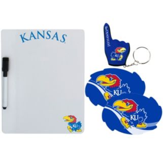Kansas Jayhawks 4-Piece Lifestyle Package