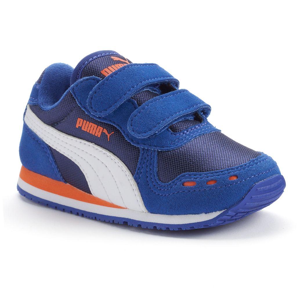 PUMA Cabana Racer Mesh V Toddler Boys' Athletic Shoes