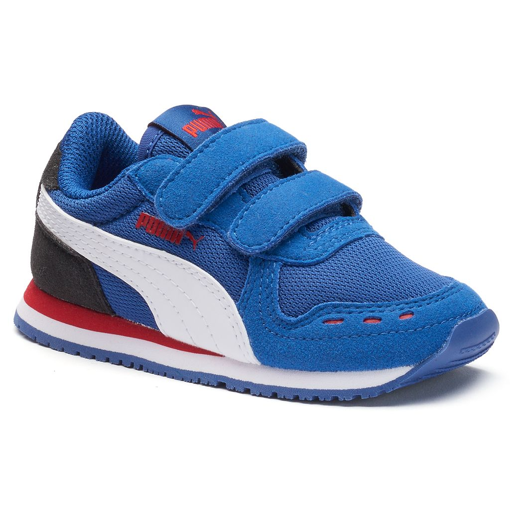 PUMA Cabana Racer Mesh V Toddler Boys' Athletic Shoes