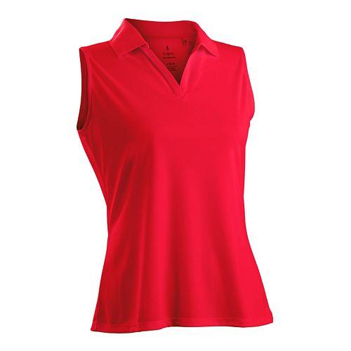 Plus Size Nancy Lopez Luster Sleeveless Golf Polo
