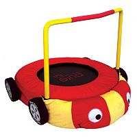 Pure Fun Plush Race Car Jumper Trampoline
