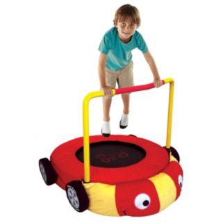 Pure Fun Plush Race Car Jumper Trampoline