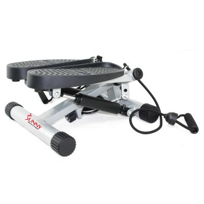 Sunny Health & Fitness Twisting Stair Stepper with Bands (No. 068)