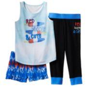 SO® Print Pajama Set - Girls 7-16
