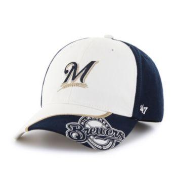 Youth '47 Brand Milwaukee Brewers Hambone Adjustable Cap