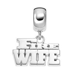 Insignia Collection Sterling Silver 'Fire Wife' Charm