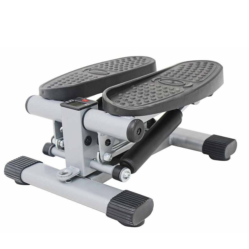 Sunny Health and Fitness Dual-Action Swivel Stepper