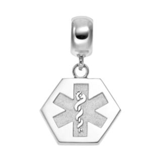 Insignia Collection Sterling Silver Medical Alert Charm