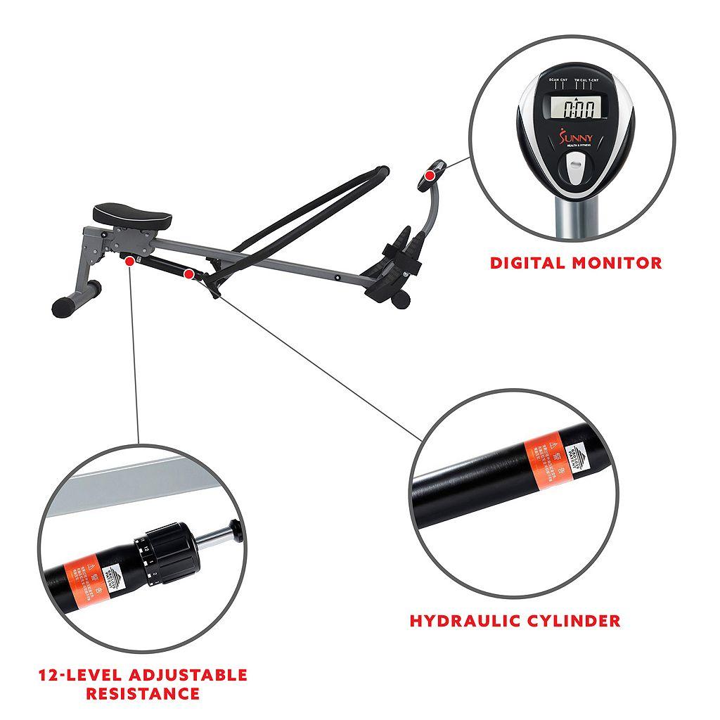 Sunny Health & Fitness Rowing Machine (SF-RW1410)