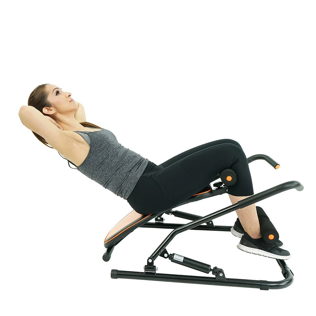 Sunny Health and Fitness Sit-Up Rowing Machine