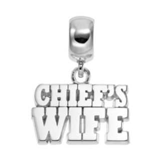 """Insignia Collection Sterling Silver """"Chief's Wife"""" Charm"""