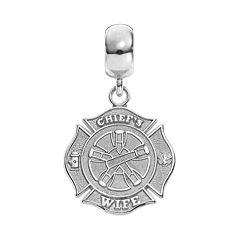 Insignia Collection Sterling Silver Maltese Cross 'Chief's Wife'