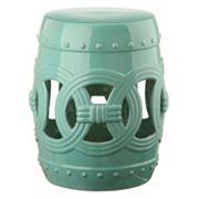 Safavieh Double Coin Ceramic Garden Stool