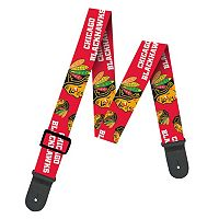 Woodrow Chicago Blackhawks Guitar Strap