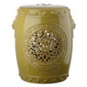 Safavieh Medallion Drum Ceramic Garden Stool