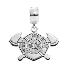 Insignia Collection Sterling Silver Maltese Cross Charm