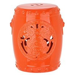 Safavieh Dragon Coin Ceramic Garden Stool