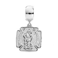 Insignia Collection Sterling Silver St. Florian Charm