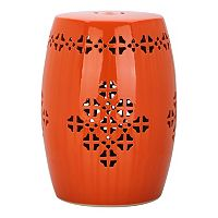 Safavieh Quatrefoil Band Ceramic Garden Stool