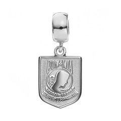 Insignia Collection Sterling Silver 'POW MIA' Charm