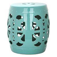 Safavieh Blossom Ceramic Garden Stool