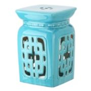 Safavieh Filigree Ceramic Garden Stool