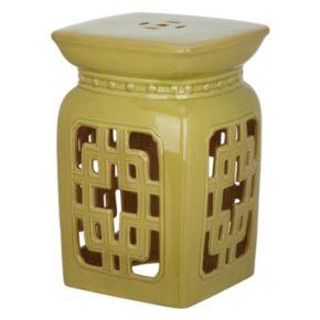 Safavieh Filigree Ceramic Garden Stool