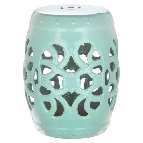 Imperial Vine Ceramic Garden Stool