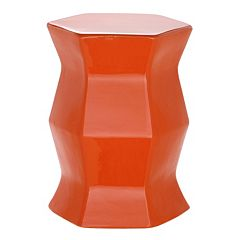 Safavieh Modern Hexagon Ceramic Garden Stool