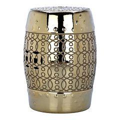 Safavieh Lantana Ceramic Garden Stool