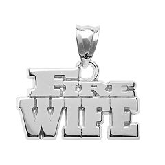 Insignia Collection Sterling Silver 'Fire Wife' Pendant