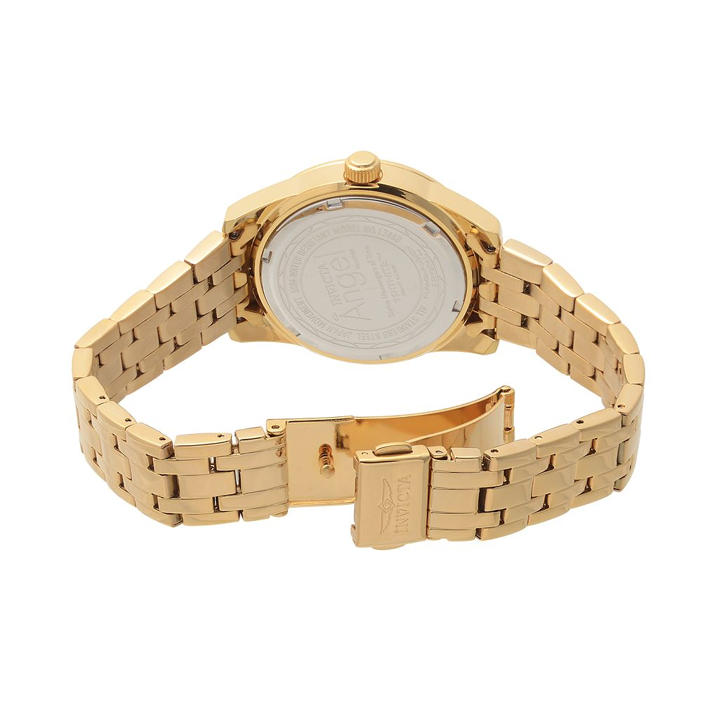 Invicta Women's Angel 18k Gold-Plated Stainless Steel Watch - KH-IN-17488