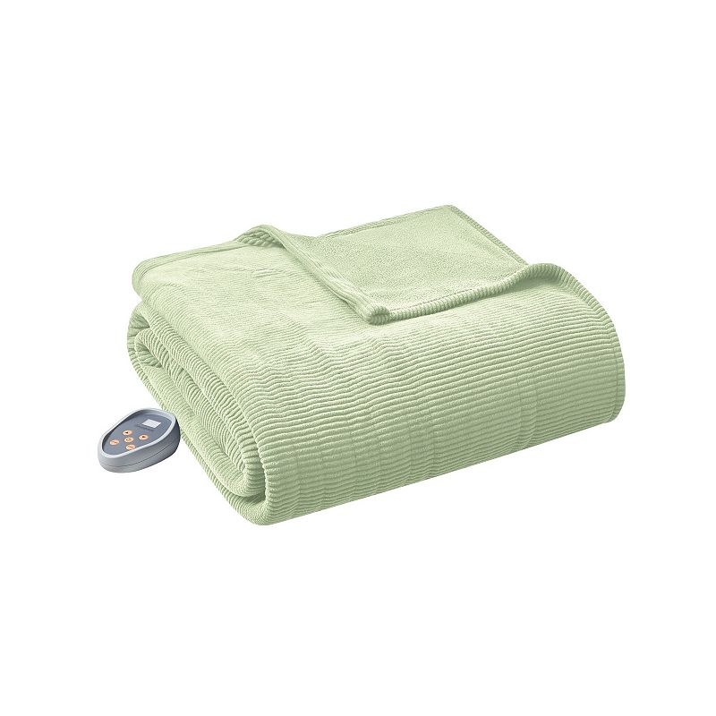 Beautyrest Knit Micro-Fleece King Electric Blanket Bedding