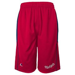Boys 8-20 Majestic Washington Nationals Batters Choice Shorts