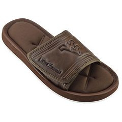Adult West Virginia Mountaineers Memory Foam Slide Sandals
