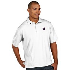 Men's Antigua Real Salt Lake Xtra-Lite Desert-Dry Pique Performance Polo